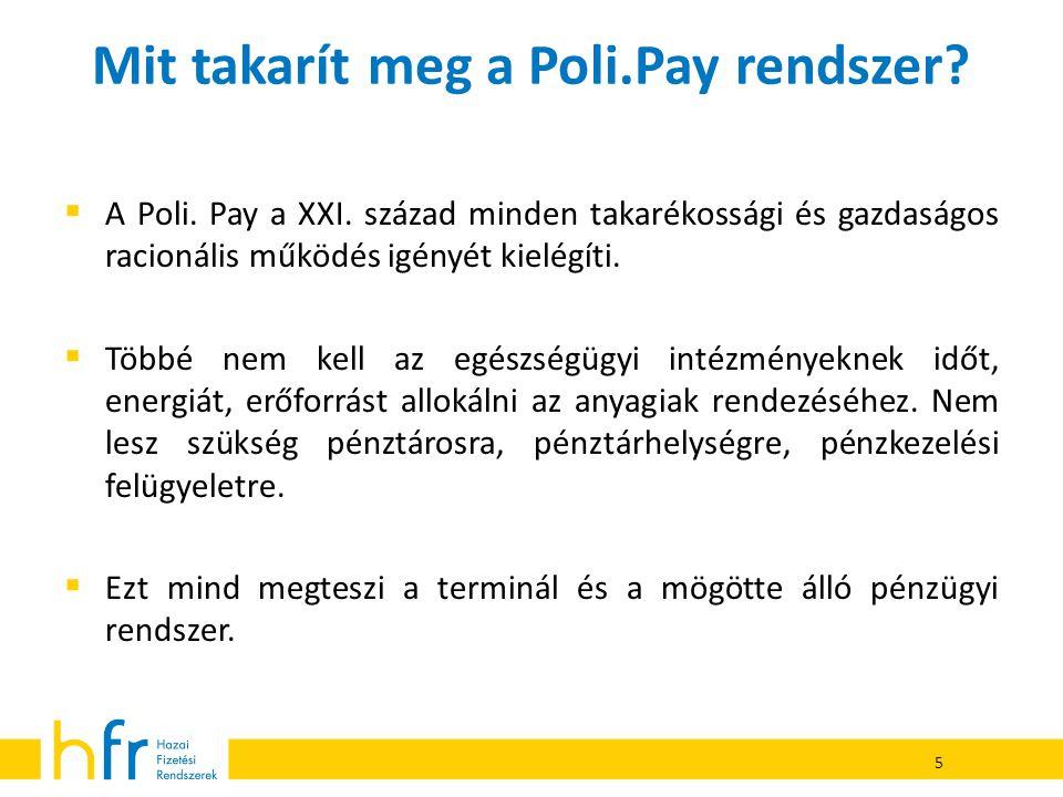 Mit takarít meg a Poli.Pay rendszer