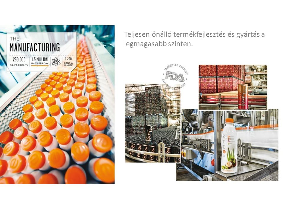 Teljesen önálló termékfejlesztés és gyártás a legmagasabb szinten.
