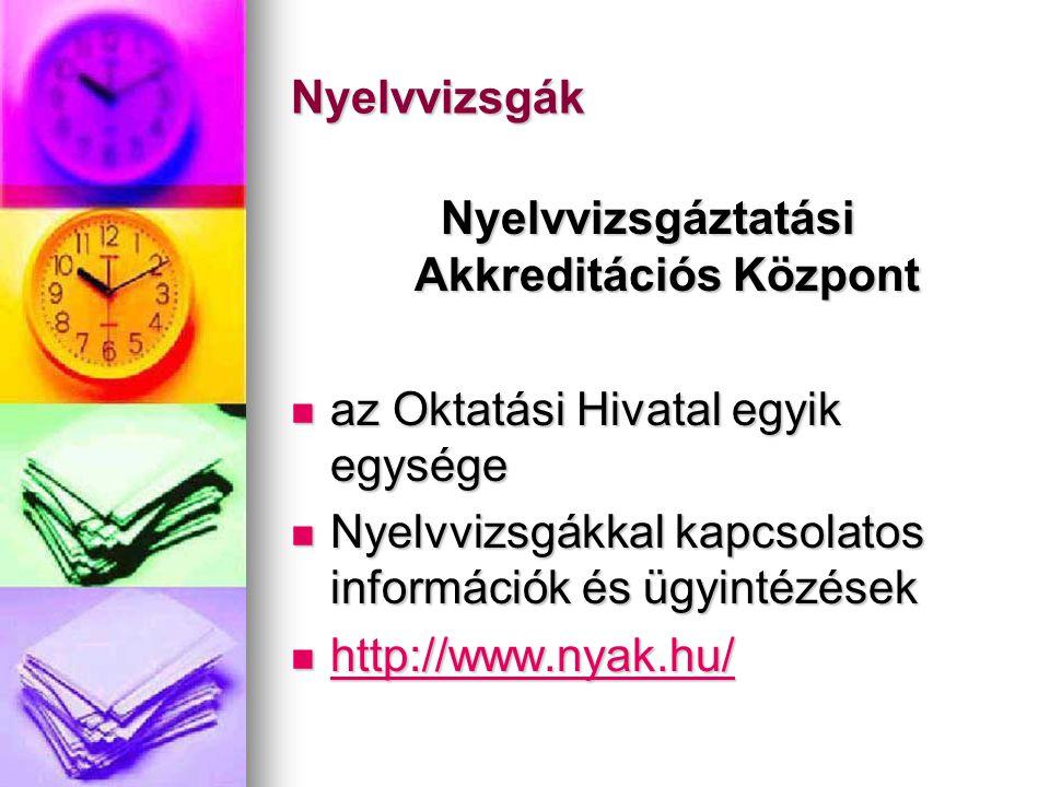 Nyelvvizsgáztatási Akkreditációs Központ