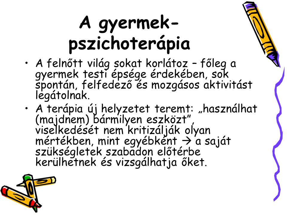 A gyermek-pszichoterápia