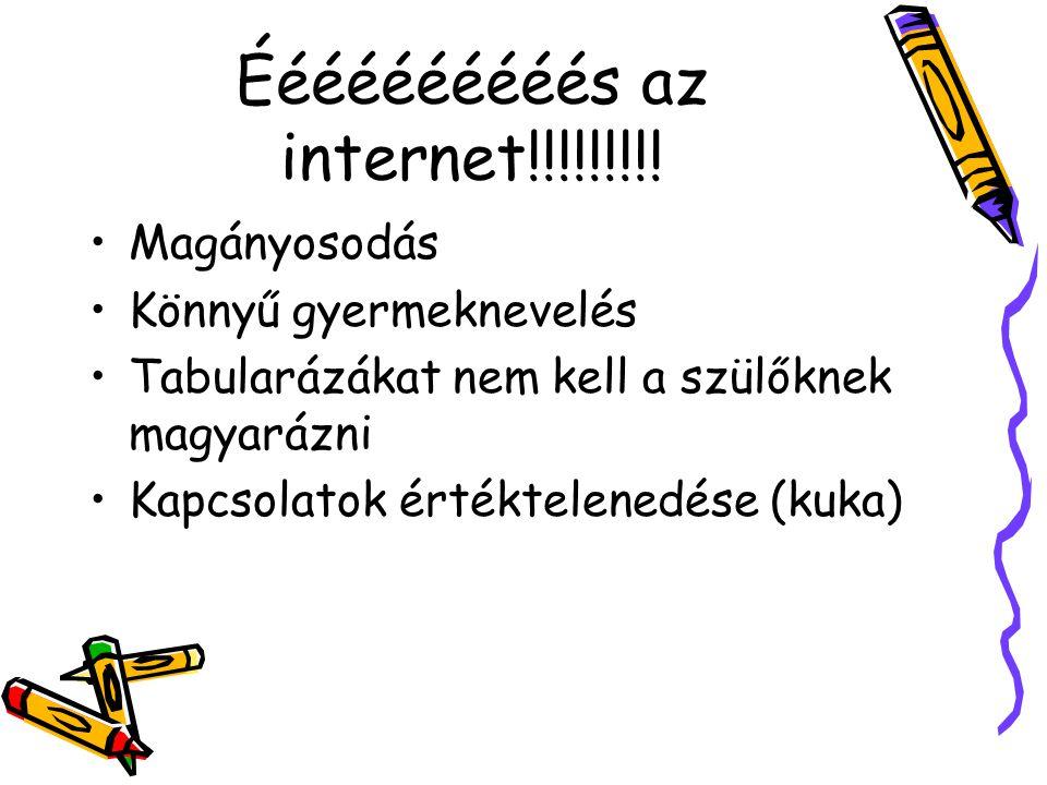 Éééééééééés az internet!!!!!!!!!