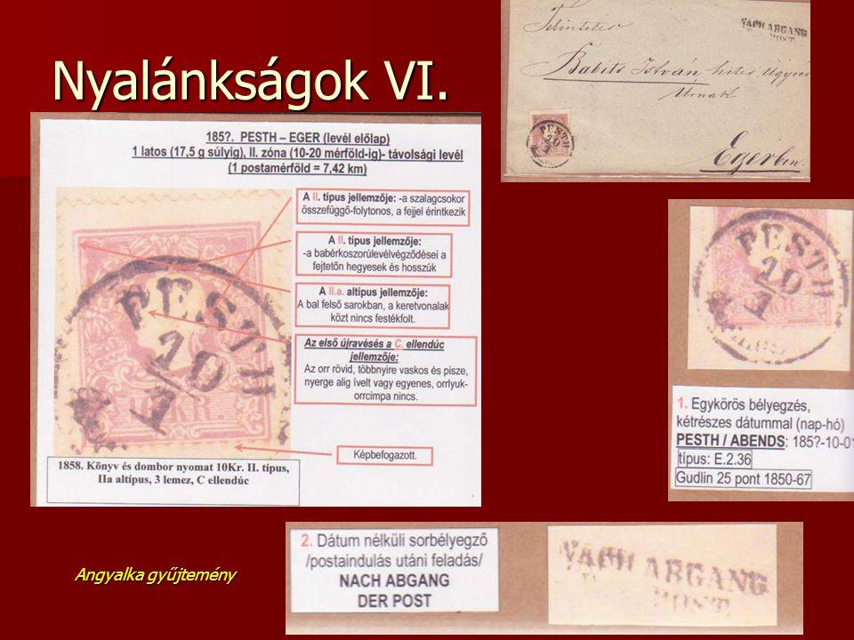 Nyalánkságok VI. Angyalka gyűjtemény