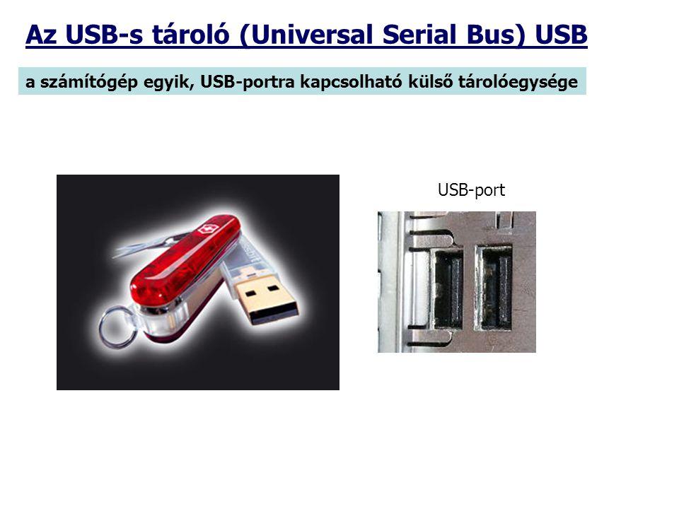 Az USB-s tároló (Universal Serial Bus) USB