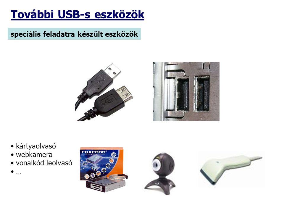 További USB-s eszközök