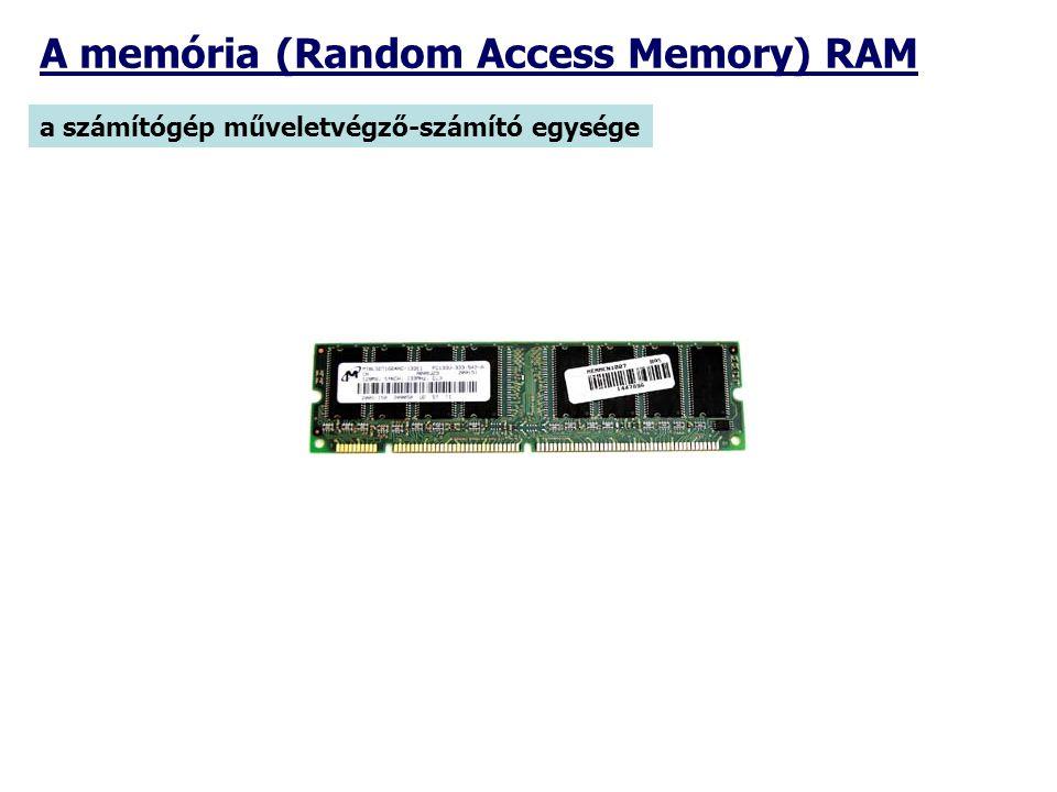 A memória (Random Access Memory) RAM