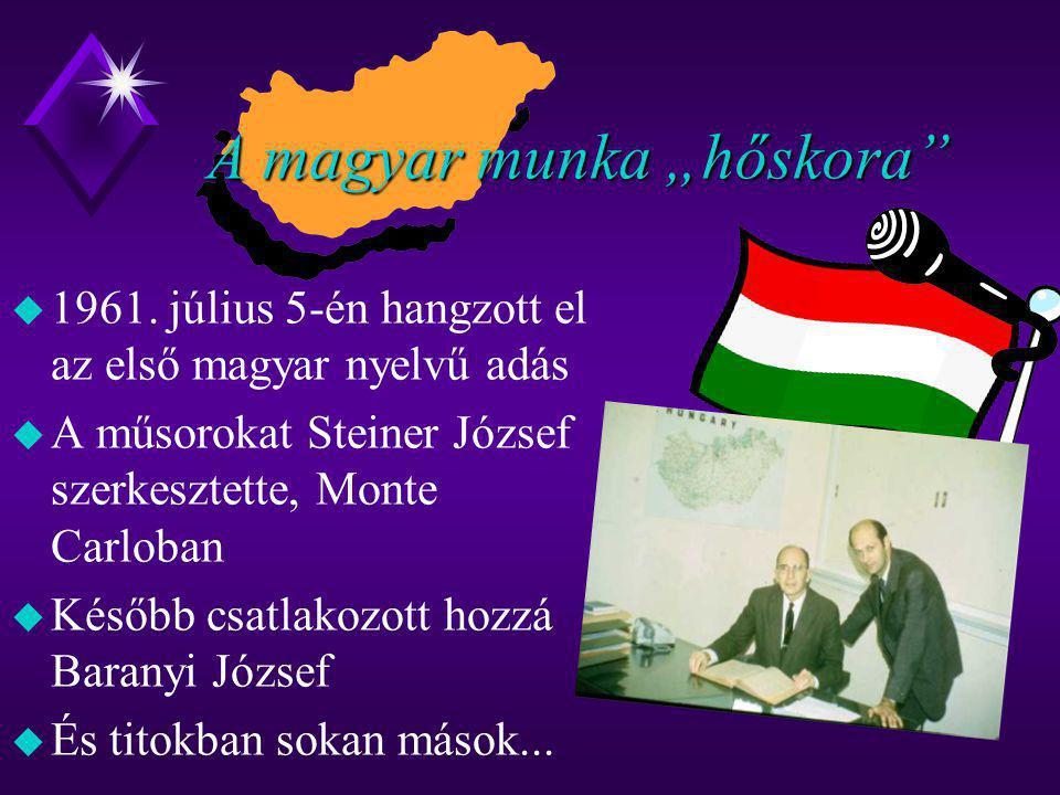 """A magyar munka """"hőskora"""