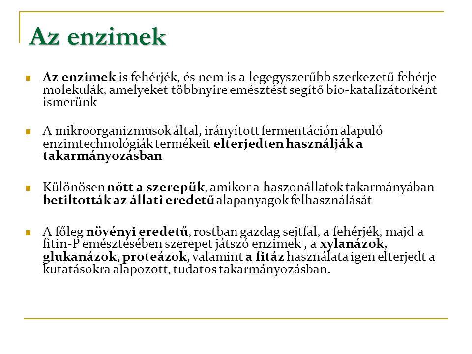 Az enzimek