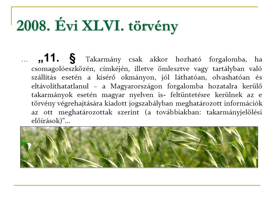 2008. Évi XLVI. törvény