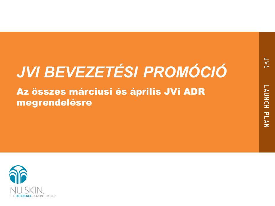 JVi bevezetÉSI promóció