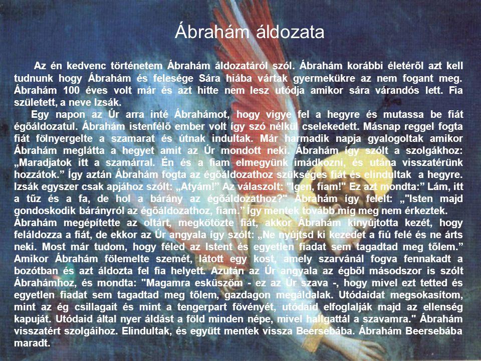 Ábrahám áldozata