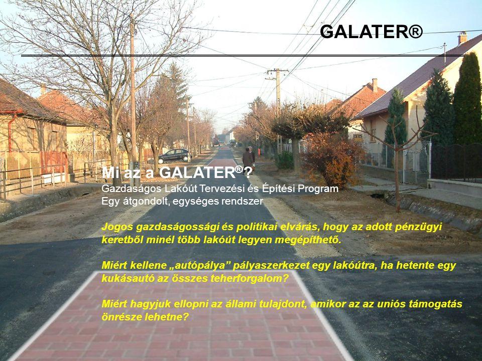 GALATER® Mi az a GALATER®