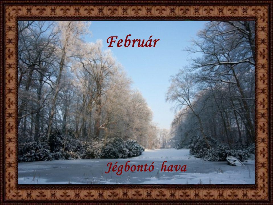 Február Jégbontó hava