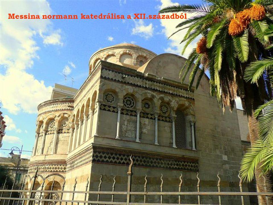 Messina normann katedrálisa a XII.századból