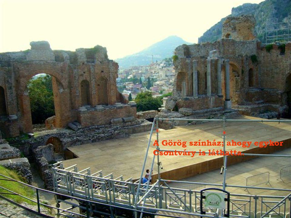 A Görög színház; ahogy egykor