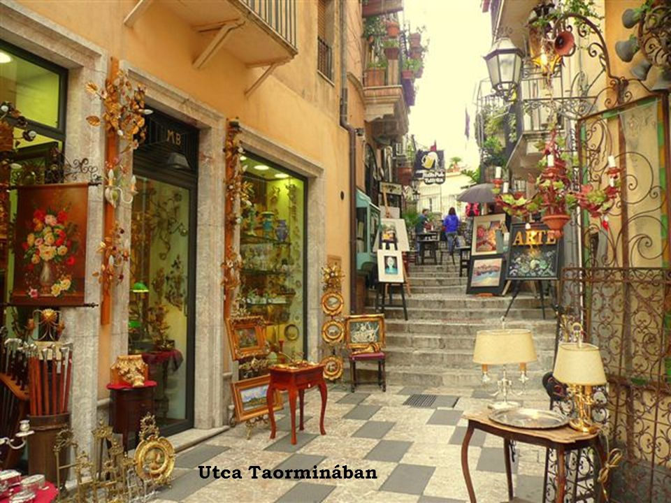 Utca Taorminában