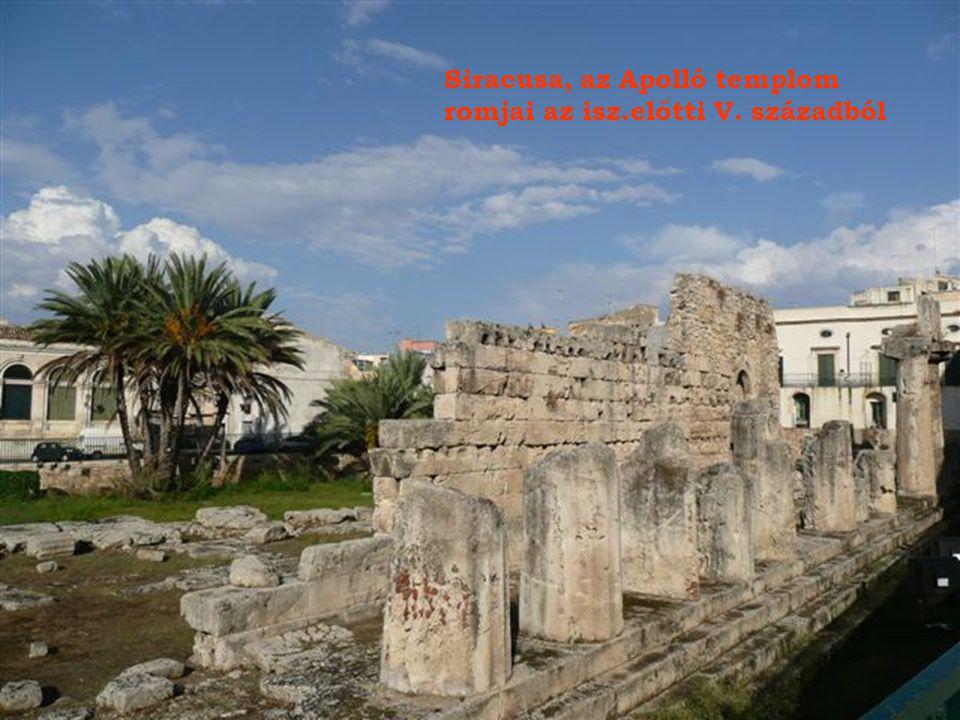 Siracusa, az Apolló templom