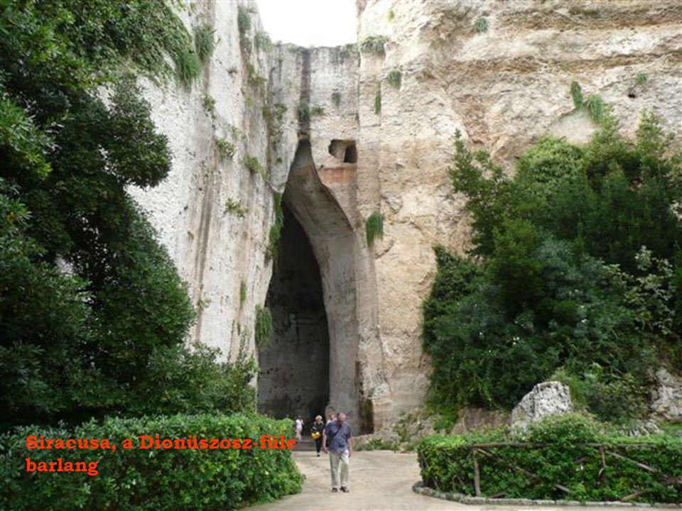 Siracusa, a Dionüszosz-füle