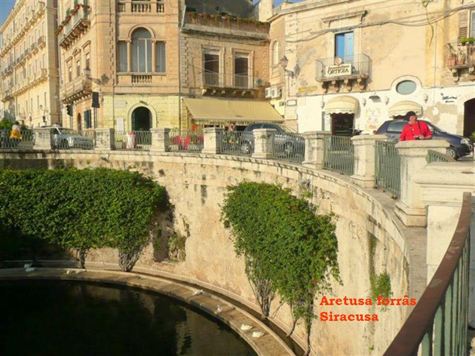 Aretusa forrás Siracusa