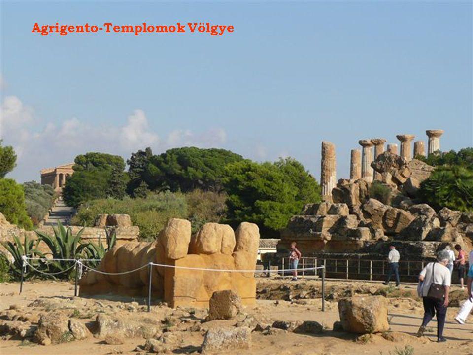 Agrigento-Templomok Völgye