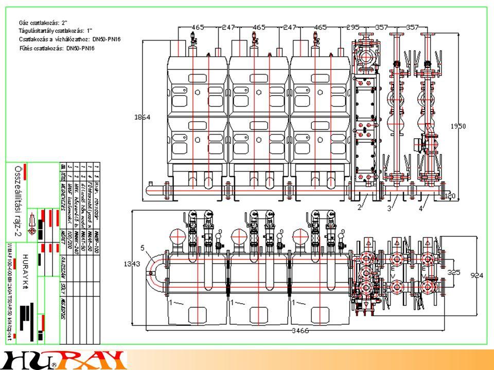 FÉG VESTALE AF 105 fűtőmodulok kiváltására