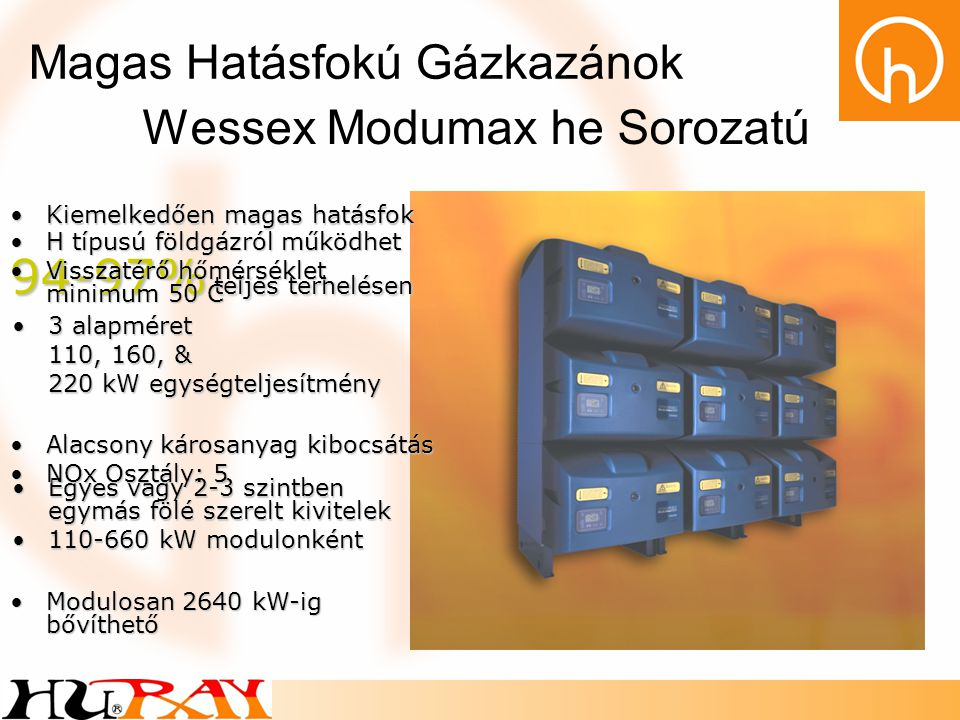 Wessex Modumax he Sorozatú