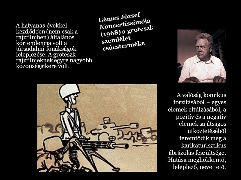 Gémes József Koncertissimója (1968) a groteszk szemlélet csúcsterméke