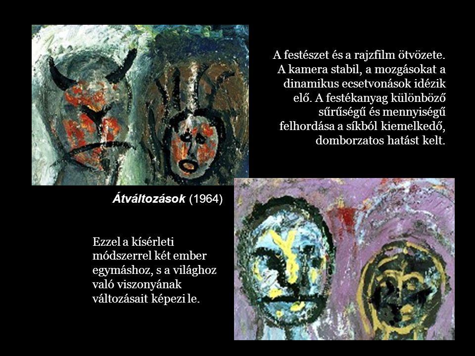 A festészet és a rajzfilm ötvözete