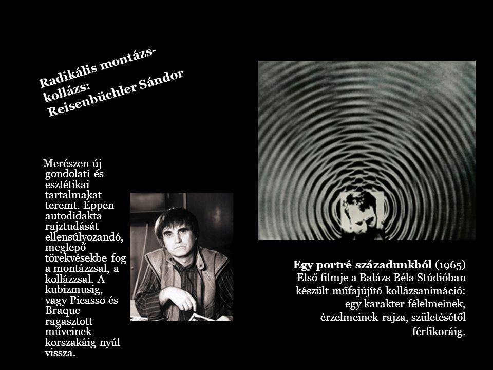 Radikális montázs- kollázs: Reisenbüchler Sándor