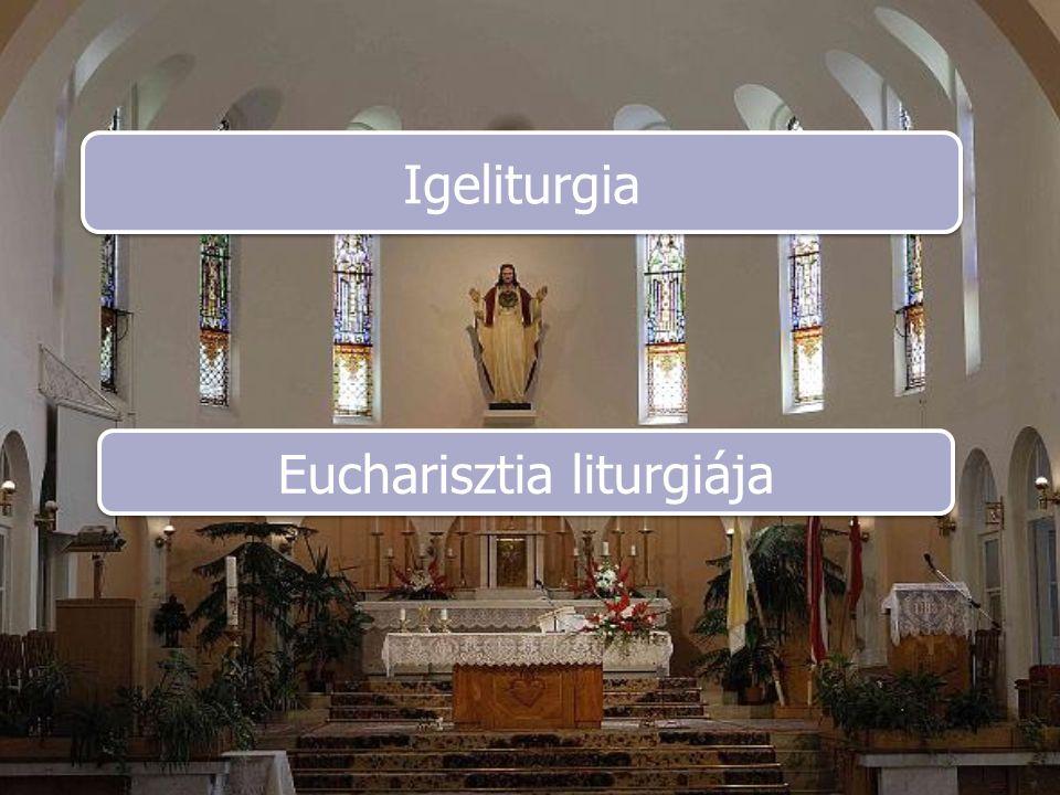 Eucharisztia liturgiája
