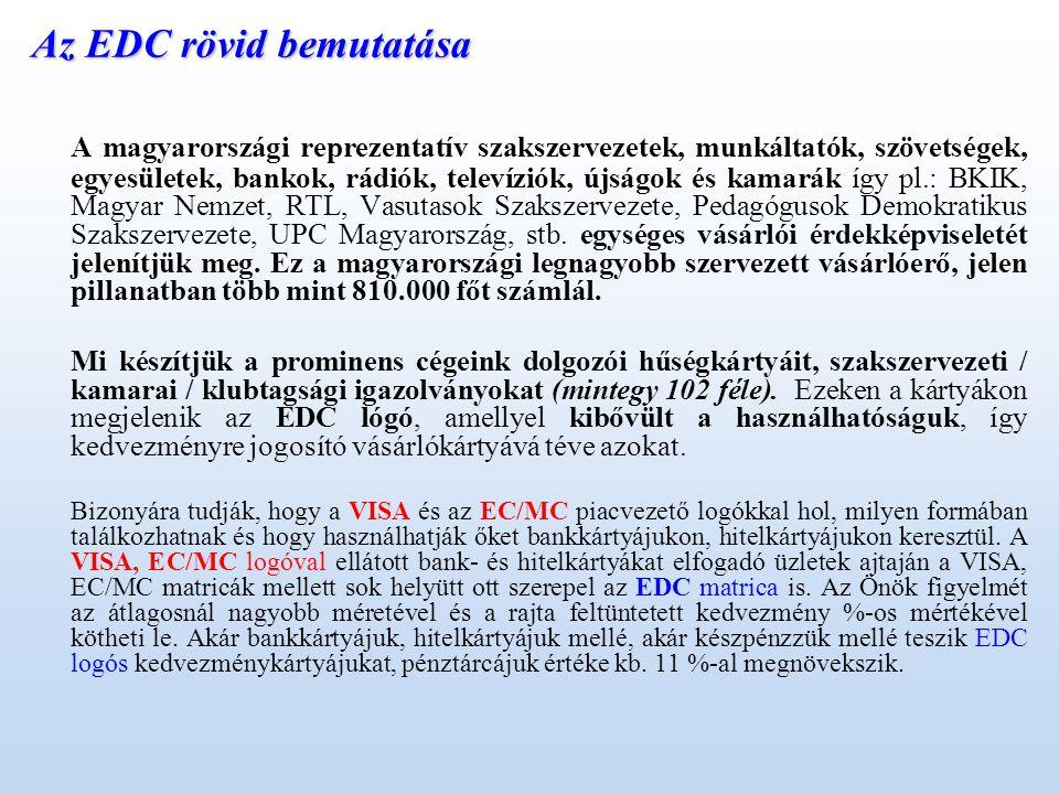 Az EDC rövid bemutatása