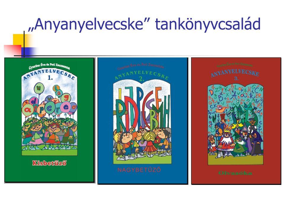 """""""Anyanyelvecske tankönyvcsalád"""