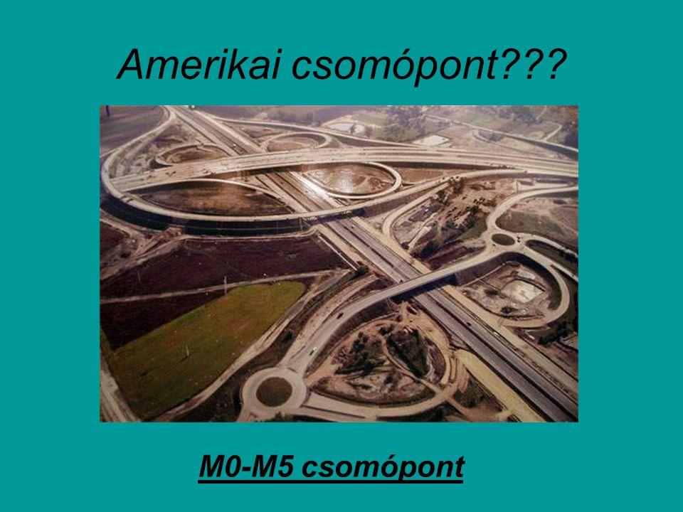 Amerikai csomópont M0-M5 csomópont
