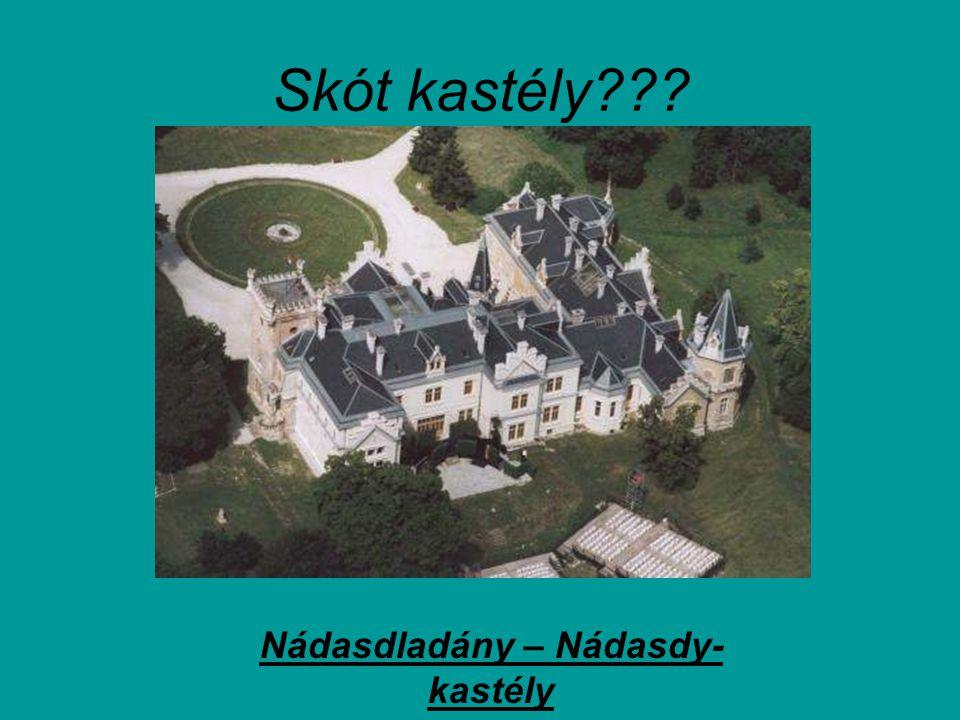 Nádasdladány – Nádasdy-kastély