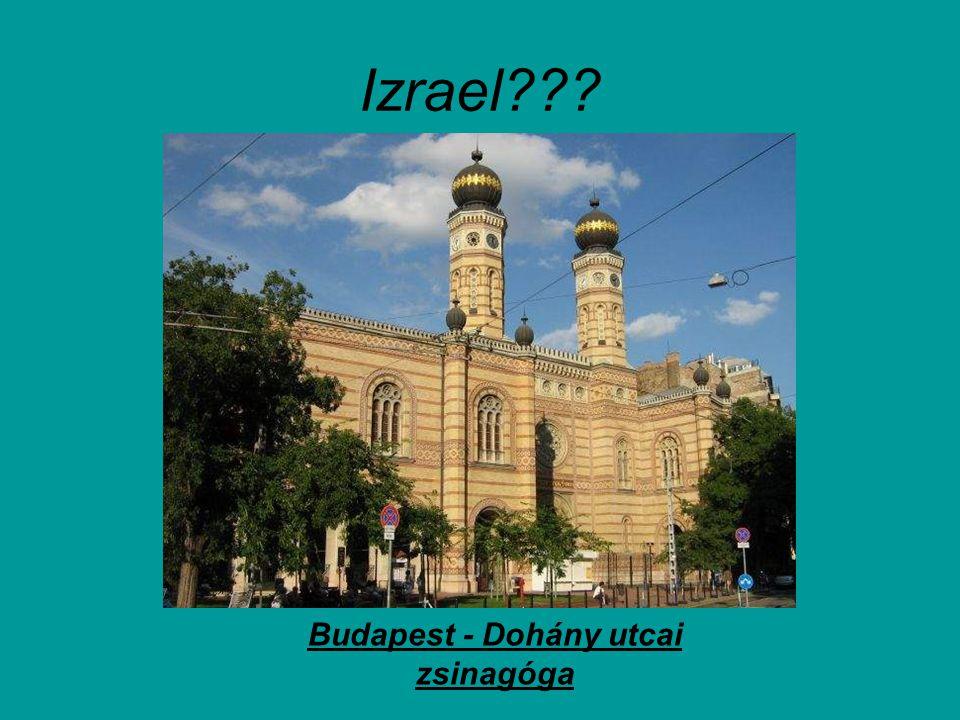 Budapest - Dohány utcai zsinagóga