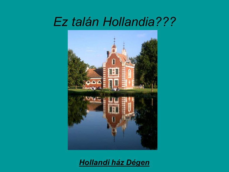 Ez talán Hollandia Hollandi ház Dégen