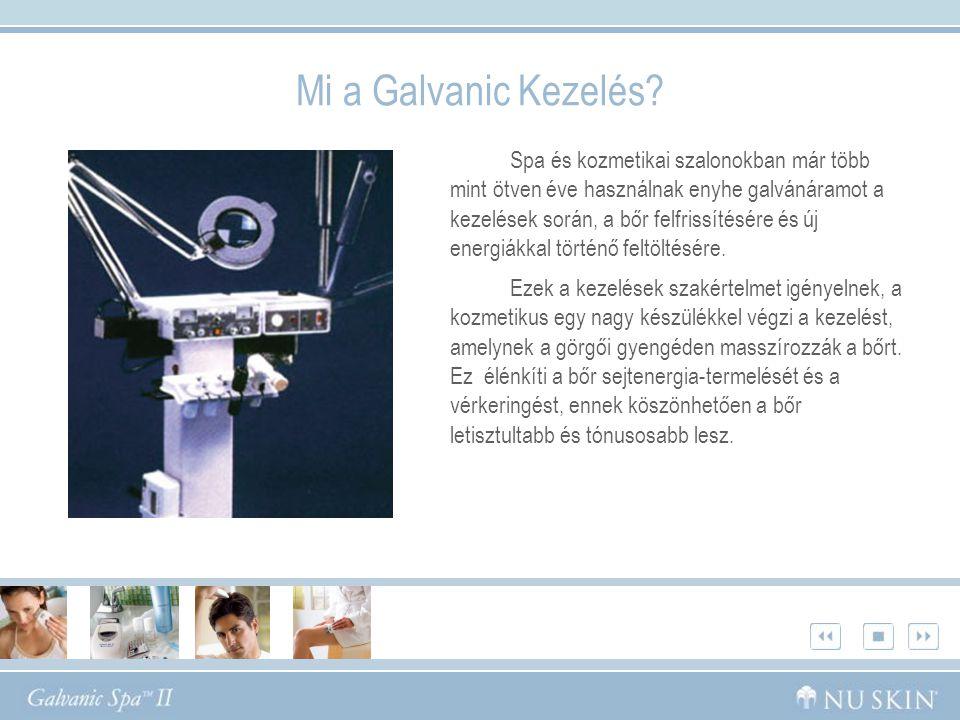 Mi a Galvanic Kezelés