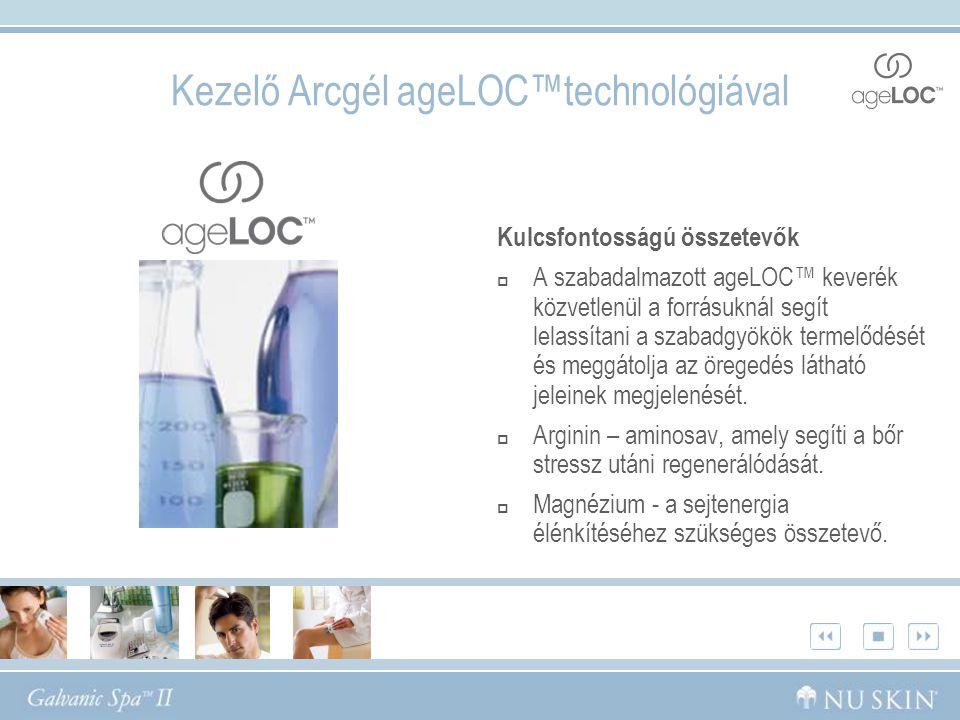 Kezelő Arcgél ageLOC™technológiával