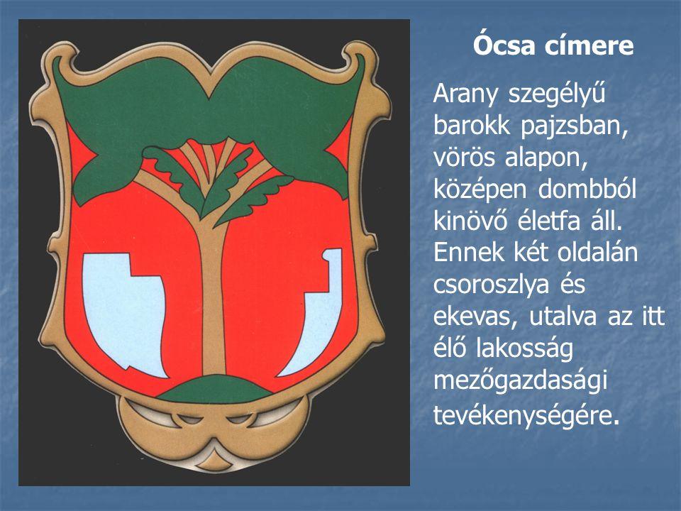 Ócsa címere