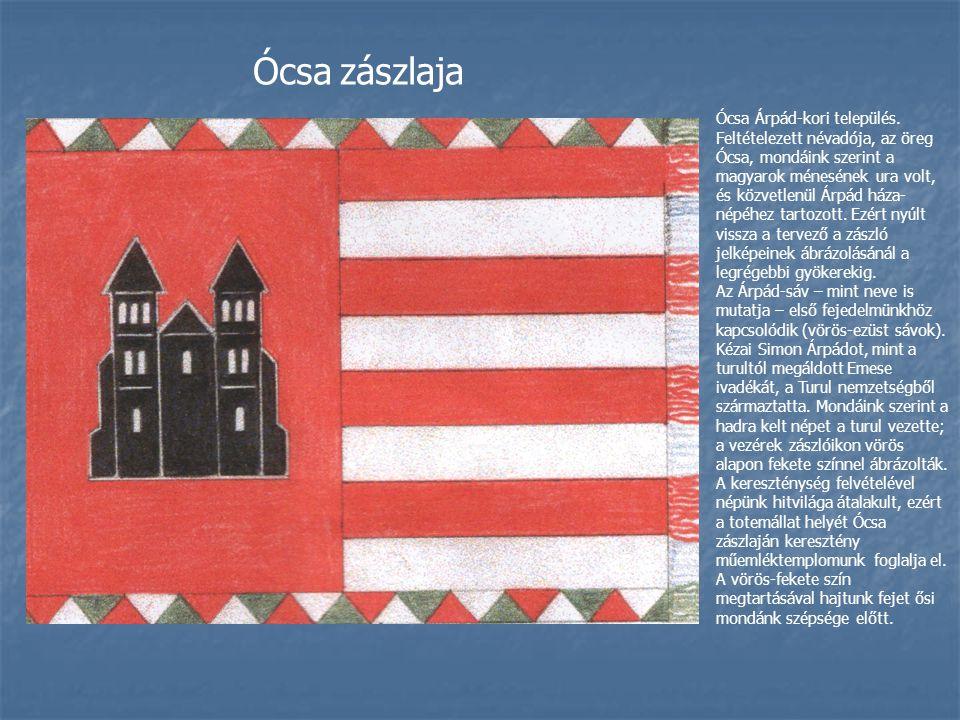 Ócsa zászlaja