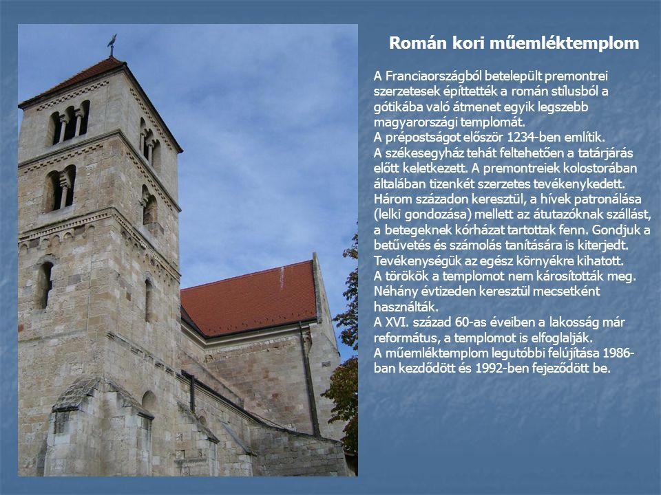 Román kori műemléktemplom