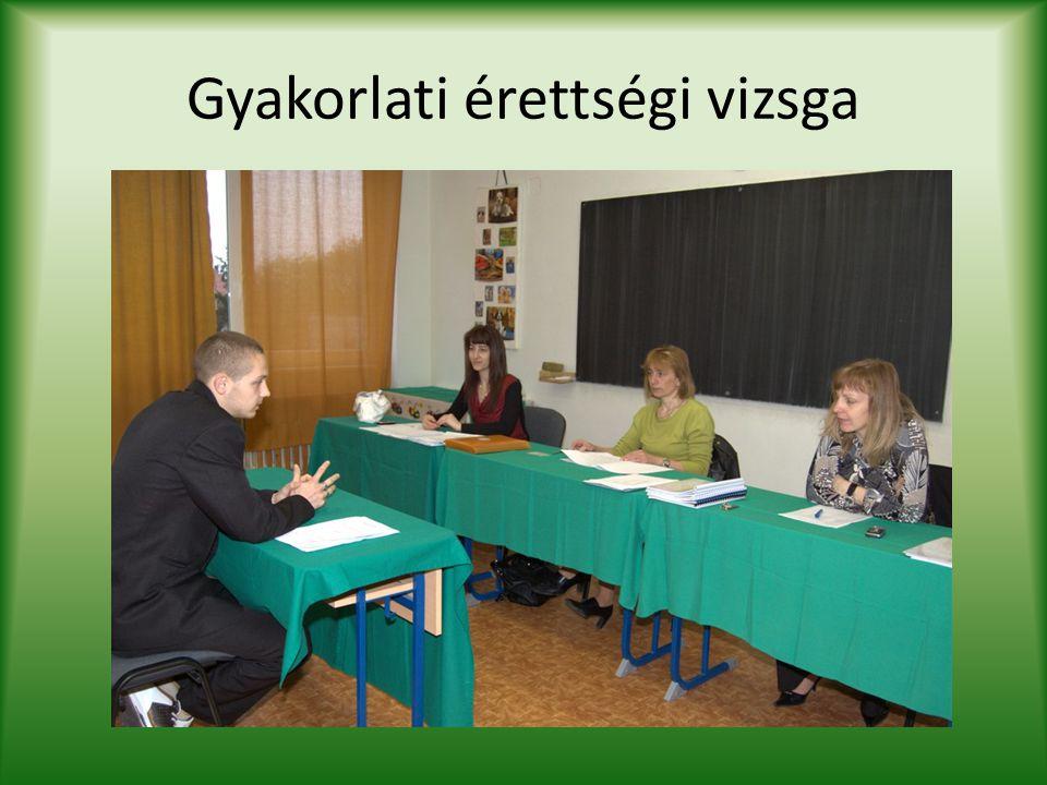 Gyakorlati érettségi vizsga
