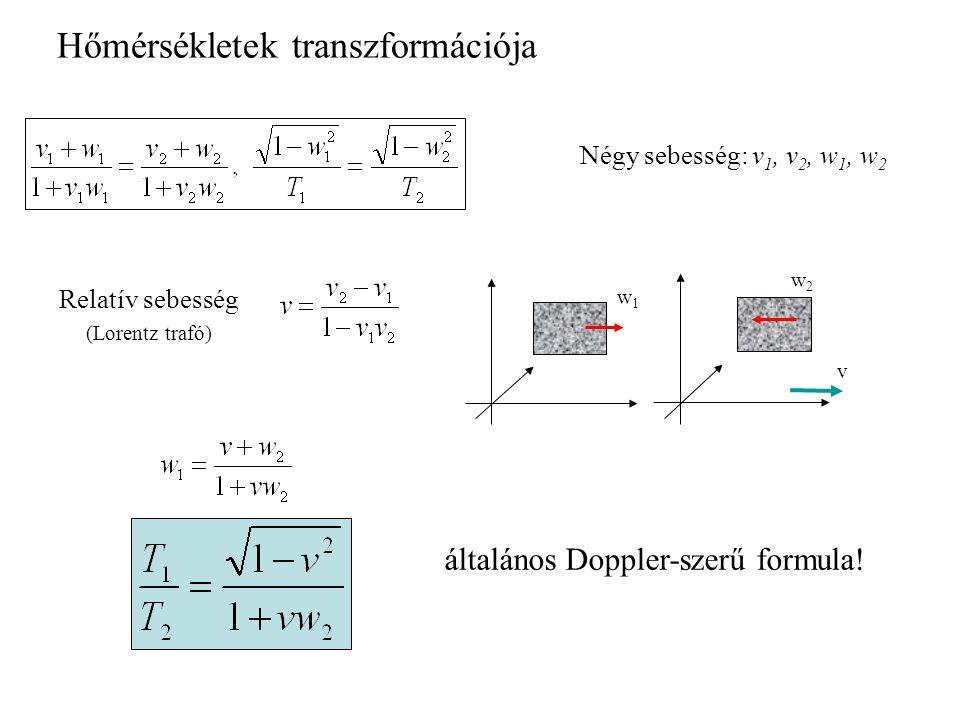 Hőmérsékletek transzformációja