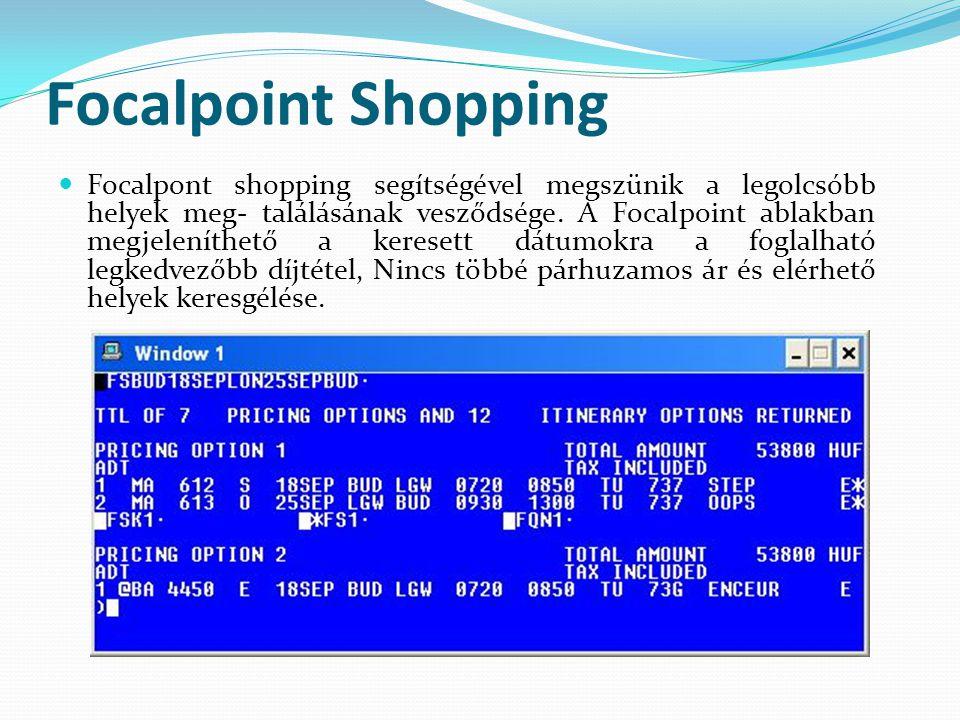 Focalpoint Shopping