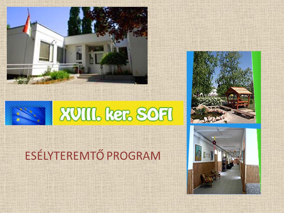 ESÉLYTEREMTŐ PROGRAM