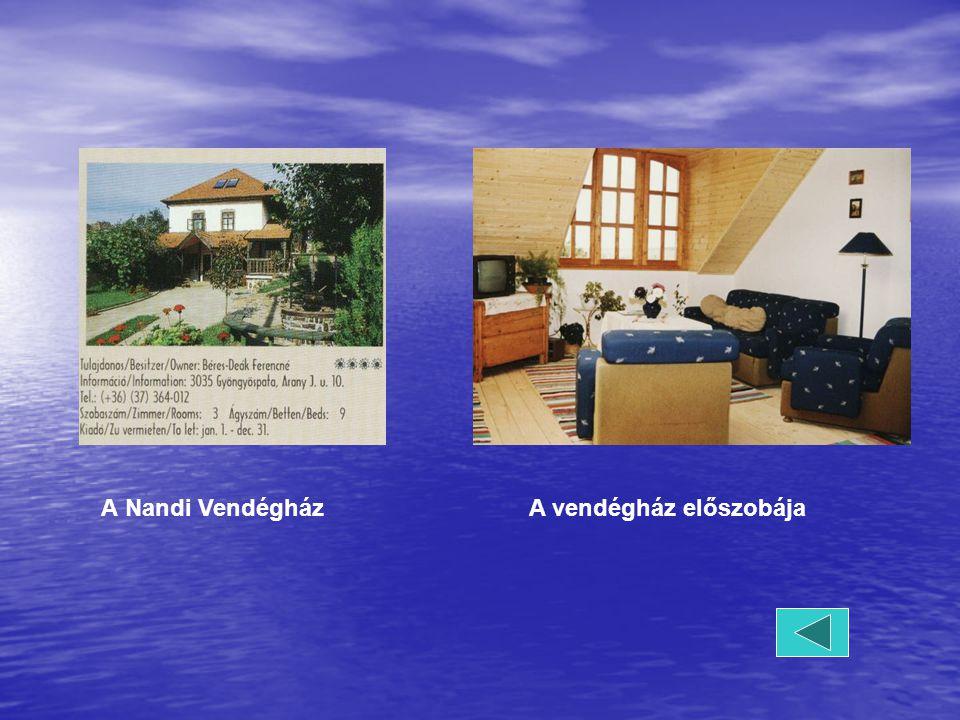 A Nandi Vendégház A vendégház előszobája