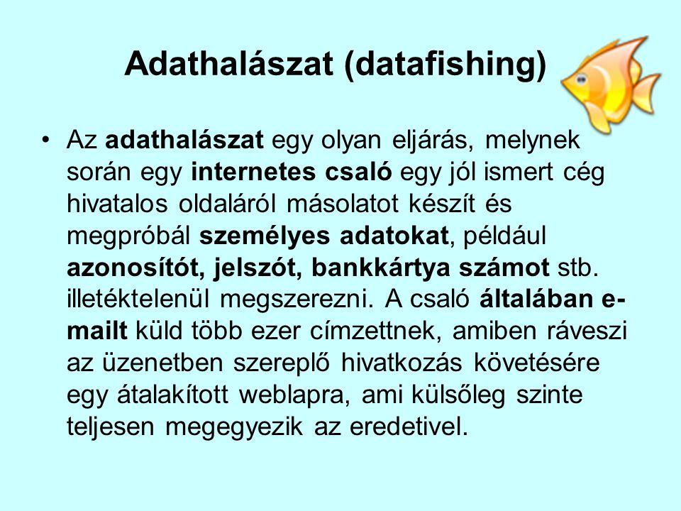 Adathalászat (datafishing)