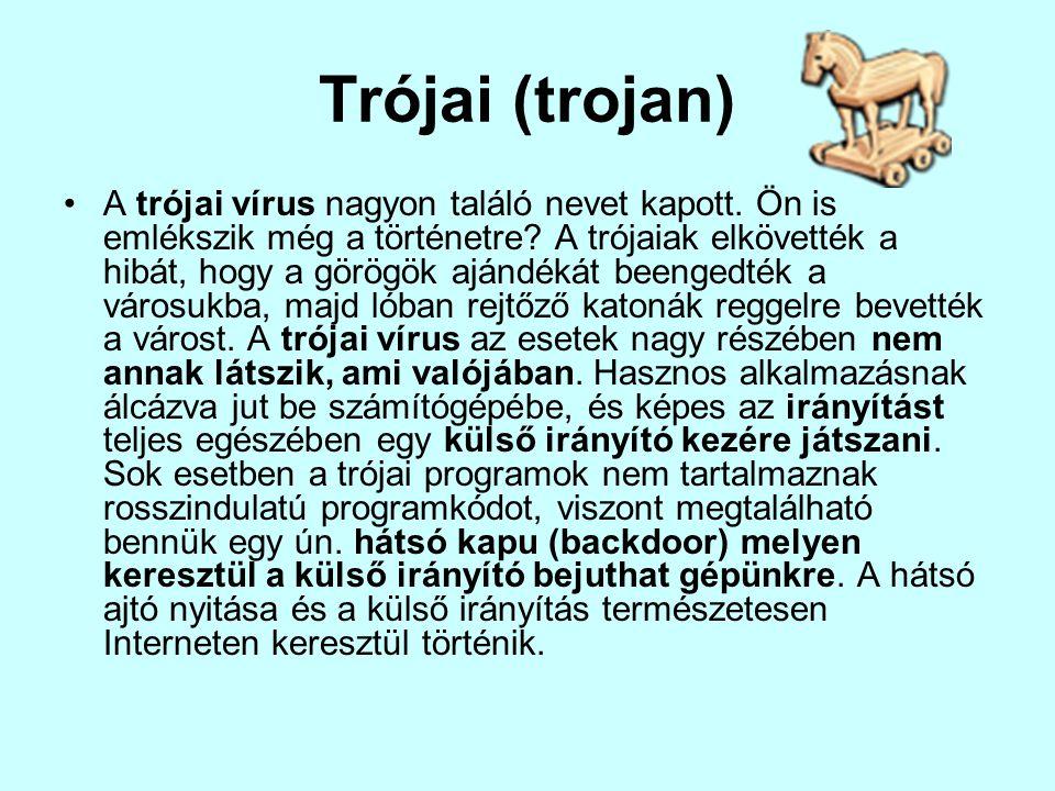Trójai (trojan)