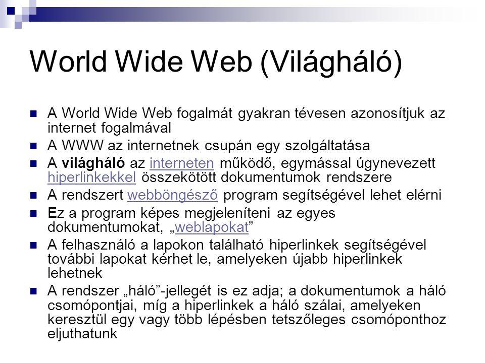 World Wide Web (Világháló)
