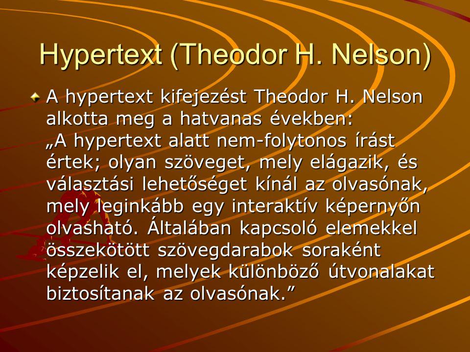 Hypertext (Theodor H. Nelson)