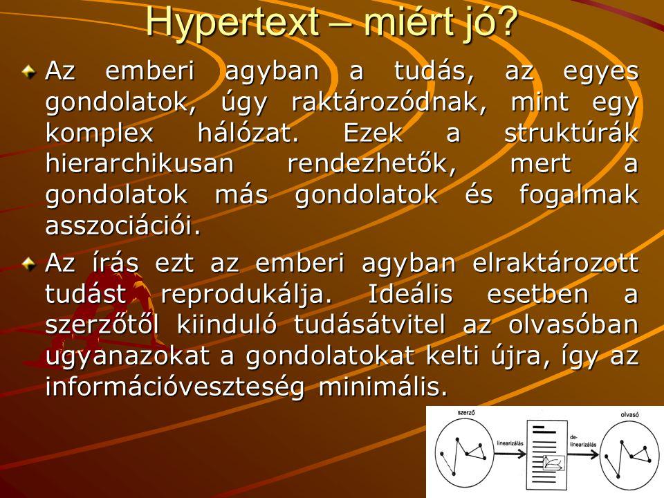 Hypertext – miért jó